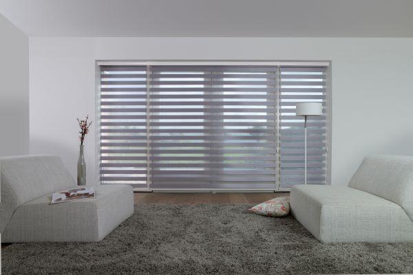 Interior blinds header