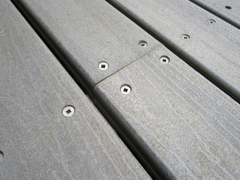 composite decking close up web