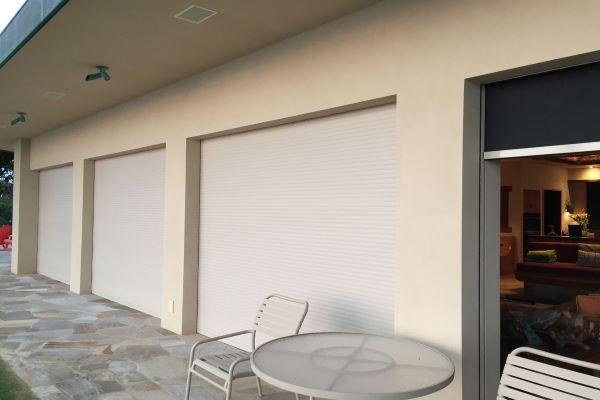 outdoor patio closed